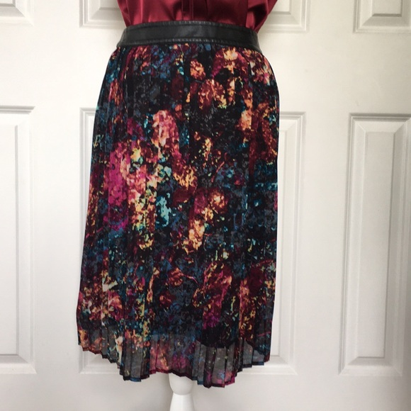 6d62713ec3 Mossimo Supply Co. Skirts | Mossimo Mixed Print Pleated Skirt 6 ...